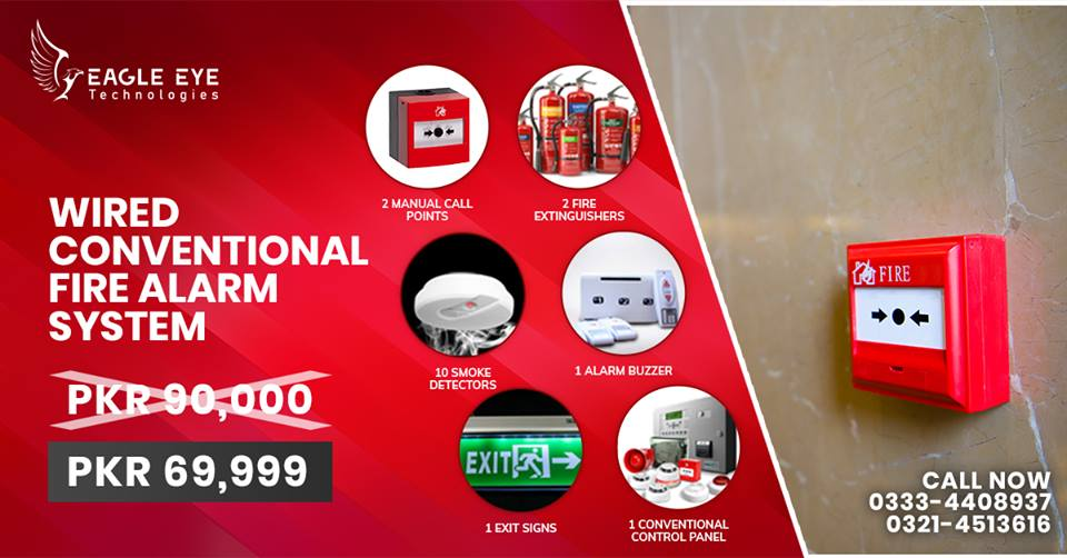 Fire Alarm System Lahore Pakistan