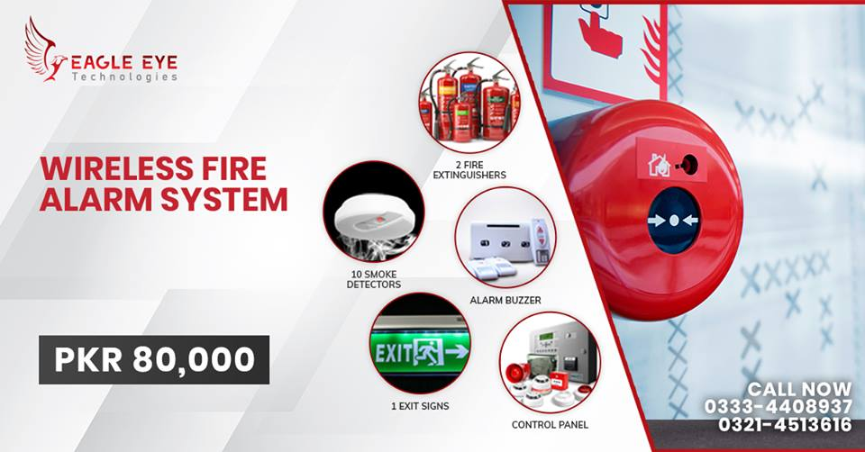 Wireless Fire Alarm System Lahore Pakistan