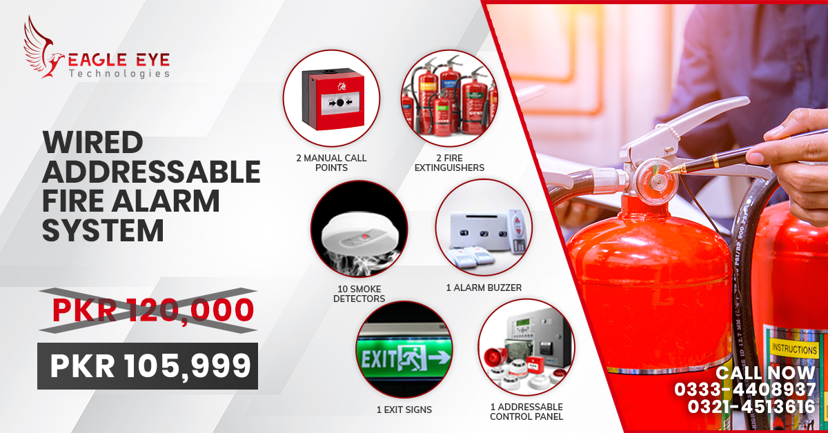 Wired Fire Alarm System Lahore