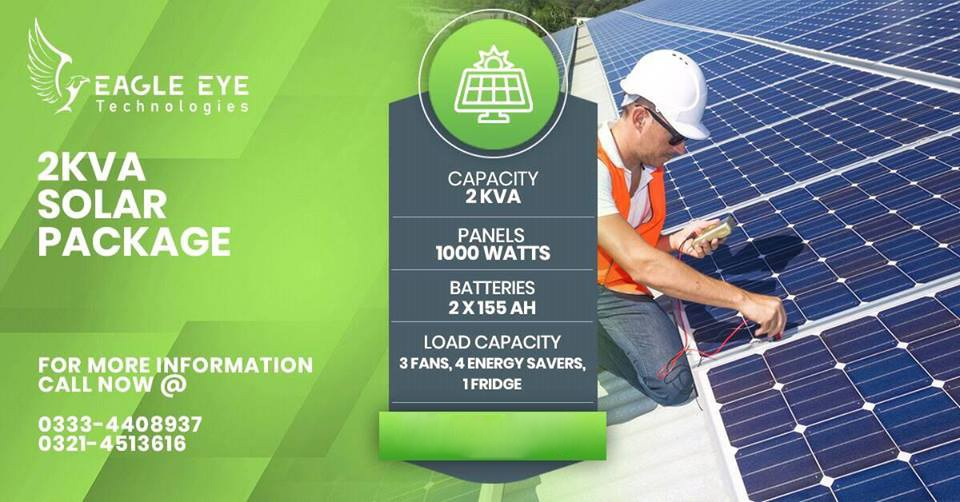 2 KW Solar System Price Lahore