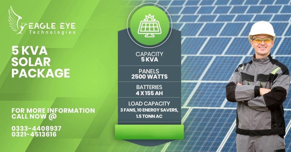 5 KW Solar Price Lahore Pakistan Islamabad