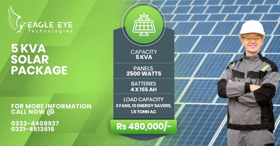 Solar Panel Price in Lahore