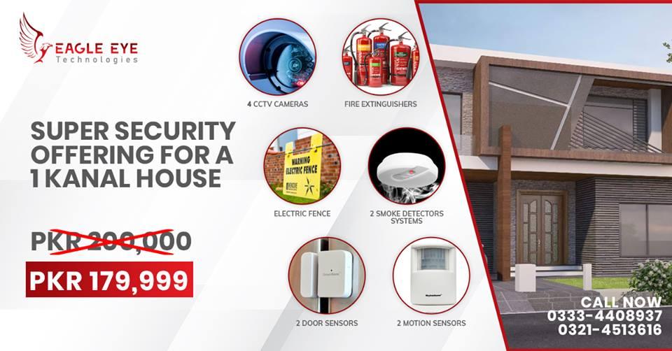 Eagle Eye Technologies CCTV 1 Kanal House