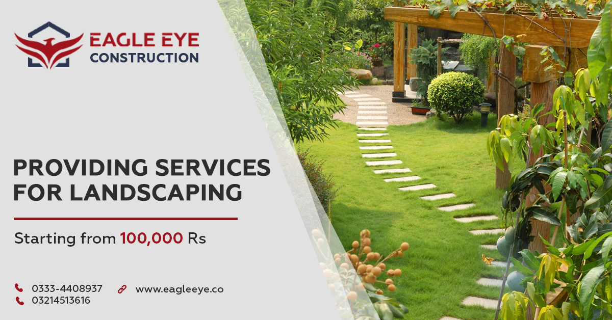 Landscaping companies in Lahore
