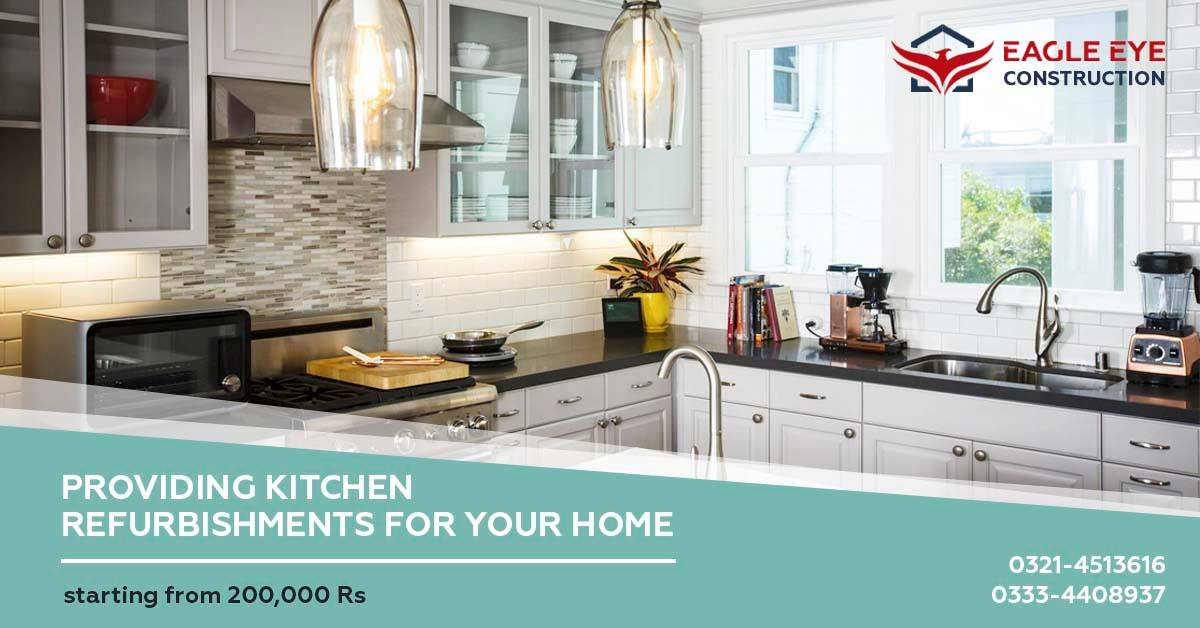 Kitchen Renovation in Lahore